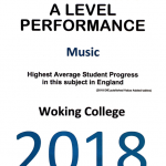 Woking College Music